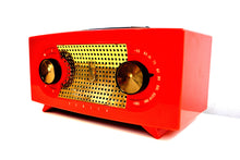 "Load image into Gallery viewer, Fire Engine Red 1955 Zenith ""Broadway"" Model R511F AM Tube Radio - [product_type} - Zenith - Retro Radio Farm"