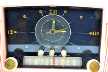Load image into Gallery viewer, SOLD! - May 25, 2019 - Rose Pink 1959 General Electric Model C-4340  Tube AM Clock Radio Cream Puff! - [product_type} - General Electric - Retro Radio Farm