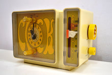 Load image into Gallery viewer, GROOVY Retro Solid State 1970's General Electric C3300A AM Clock Radio Alarm It's Dynamite! - [product_type} - General Electric - Retro Radio Farm