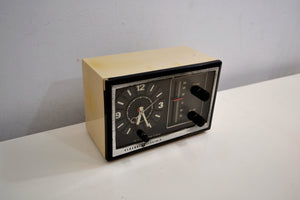 Early Tech Age 1978 General Electric Model 7-4725A Solid State AM Clock Radio Works Great! - [product_type} - General Electric - Retro Radio Farm