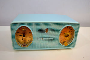 SOLD! - Jan. 8, 2020 - Belvedere Blue Vintage 1959 Zenith Model B514V AM Tube Radio Excellent Condition! - [product_type} - Zenith - Retro Radio Farm