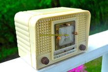 Load image into Gallery viewer, SOLD! - Nov 1, 2018 - Royal Ivory Mid Century Retro 1954 Regal Model C527L Tube AM Clock Radio Excellent Plus Condition and Sounds Great! - [product_type} - Regal - Retro Radio Farm