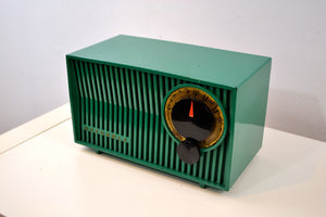 SOLD! - Feb.21, 2020 - Kelly Green 1953 Motorola 53R(5) Tube AM Antique Radio Nice Color! Nice Performer! - [product_type} - Motorola - Retro Radio Farm