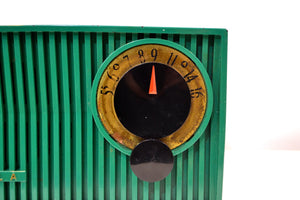 Kelly Green 1953 Motorola 53R(5) Tube AM Antique Radio Nice Color! Nice Performer! - [product_type} - Motorola - Retro Radio Farm