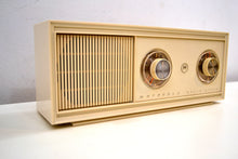 Load image into Gallery viewer, Caesar Ivory 1960s Motorola Model XT11FH Vintage Solid State AM Radio Works Great!