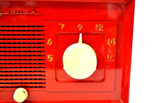 Load image into Gallery viewer, SOLD! - Mar 4, 2020 - Fire Engine Red 1949 Jewel Model 940 Red Bakelite Tube Radio Totally Restored Excellent Condition! - [product_type} - Jewel - Retro Radio Farm