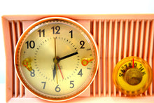 Load image into Gallery viewer, SOLD! - Jan 26, 2020 - Pink Velvet 1957 Motorola 57CS Port Hole Tube AM Clock Radio Totally Restored! - [product_type} - Motorola - Retro Radio Farm