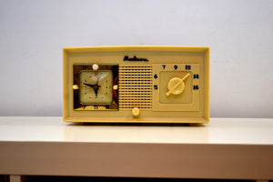 Dreamy Cream 1949 Madison Model 940AU Tube Radio in Excellent Condition Works Great! - [product_type} - Madison - Retro Radio Farm