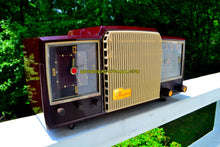 Load image into Gallery viewer, Espresso 1955 General Electric Model 920 Tube AM Clock Radio Excellent Plus! - [product_type} - General Electric - Retro Radio Farm
