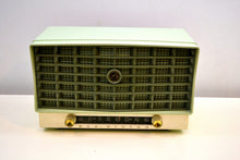 "Load image into Gallery viewer, ""The Glendon"" Mint Green Vintage 1953 RCA Victor 6-XD-5C Tube Radio Excellent Condition Works Great! - [product_type} - RCA Victor - Retro Radio Farm"