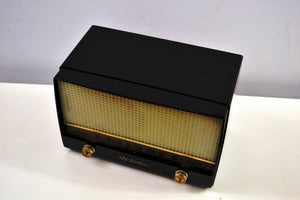 Ebony Classic 1954 RCA Victor 4-X-641 Tube Radio Excellent Condition Works Great! - [product_type} - RCA Victor - Retro Radio Farm