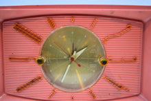 Load image into Gallery viewer, BLUETOOTH MP3 UPGRADED - Rose Pink 1959 Westinghouse Model H545T5A Tube AM Radio - [product_type} - Westinghouse - Retro Radio Farm
