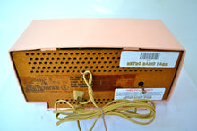 Load image into Gallery viewer, SOLD! - July 19, 2018 - CARNATION PINK Mid Century 1959 General Electric Model C437A Tube AM Clock Radio Mint Condition! - [product_type} - General Electric - Retro Radio Farm