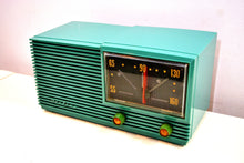 Load image into Gallery viewer, Gumby Green 1950s Airline AM Tube Radio Totally Restored Looks Great! - [product_type} - Airline - Retro Radio Farm