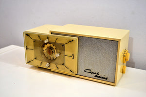 Ivory Cream 1953 Capehart Model T-62 AM Vintage Tube Radio Looks Classy! - [product_type} - Capehart - Retro Radio Farm