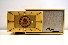 Load image into Gallery viewer, Ivory Cream 1953 Capehart Model T-62 AM Vintage Tube Radio Looks Classy! - [product_type} - Capehart - Retro Radio Farm