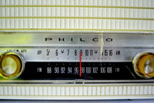 Load image into Gallery viewer, AM FM Baby Blue and White 1963 Philco Model L926-124 Tube Radio Rare Functional With Issues - [product_type} - Philco - Retro Radio Farm
