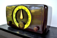 Load image into Gallery viewer, SOLD! - Aug 22, 2019 - Chocolate Brown Bakelite 1949 Zenith Model 7H918 FM Only Tube Radio Great Player Delicious Looking! - [product_type} - Zenith - Retro Radio Farm