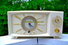 Load image into Gallery viewer, SOLD! - Nov 26, 2017 - SNOW WHITE Mid Century Retro 1959 Westinghouse Model H816L5 Tube AM Clock Radio Totally Restored! - [product_type} - Westinghouse - Retro Radio Farm