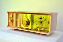 Load image into Gallery viewer, SOLD! - Mar 18, 2019 - Luscious Pink 1957 Motorola 57CC Tube AM Clock Radio Pristine Condition! - [product_type} - Motorola - Retro Radio Farm