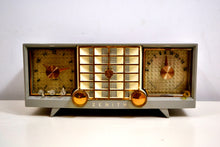 Load image into Gallery viewer, SOLD! - Sept 29, 2019 - Hull Grey 1955 Zenith Super Deluxe Model R623G AM Tube Radio Bells and Whistles! - [product_type} - Zenith - Retro Radio Farm