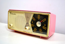Load image into Gallery viewer, Bubble Gum Pink 1956 Emerson Model 876B Tube AM Radio Restored Loud As Heck and Great Sounding! - [product_type} - Emerson - Retro Radio Farm