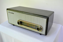 Load image into Gallery viewer, SOLD! - Feb 7, 2019 - Graphite Black 1959 Crosley Ranchero T-60 AM Tube Radio - [product_type} - Crosley - Retro Radio Farm