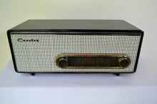Load image into Gallery viewer, Graphite Black 1959 Crosley Ranchero T-60 AM Tube Radio - [product_type} - Crosley - Retro Radio Farm