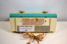 Load image into Gallery viewer, Seafoam Turquoise and White 1963 Philco Model K914-124 Rare FM & AM Tube Radio Wow - What A Find! - [product_type} - Philco - Retro Radio Farm