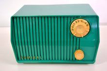 Load image into Gallery viewer, SOLD! - July 23, 2019 - Green 1959 Admiral Model 4L28A AM Antique Radio - [product_type} - Admiral - Retro Radio Farm