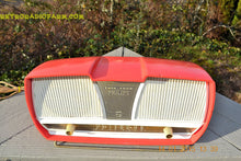 Load image into Gallery viewer, SOLD! - March 23, 2015 - SALMON Pink Mid Century Retro Jetsons Philips Twintone AM Vacuum Tube Radio Totally Restored! - [product_type} - Philips - Retro Radio Farm
