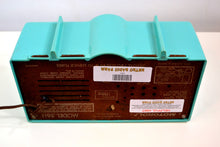 Load image into Gallery viewer, Turquoise 1957 Motorola 56H Turbine Tube AM Radio
