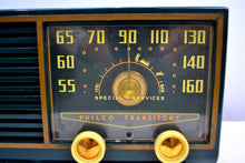 Load image into Gallery viewer, SOLD! - Oct 26, 2019 - Hunter Green 1953 Philco Model 53-562 Transitone AM Radio with Civil Service and Sounds Great! - [product_type} - Philco - Retro Radio Farm
