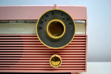 Load image into Gallery viewer, SOLD! - Jan. 8, 2020 - Madison Pink Mid Century 1959 Philco Model F813-124 Tube AM Radio Cuteness Overload! - [product_type} - Philco - Retro Radio Farm