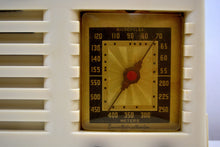 Load image into Gallery viewer, SOLD! - Dec 6, 2019 - Ivory 1938 Vintage Emerson Model 138 Plaskon AM Tube Radio Golden Age Wonder! - [product_type} - Emerson - Retro Radio Farm
