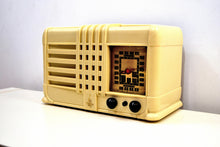 Load image into Gallery viewer, SOLD! - Nov 29, 2019 - Castle Ivory 1940 Model 343 Vintage Emerson AM Shortwave Golden Age Radio Looks and Sounds Spectacular! - [product_type} - Emerson - Retro Radio Farm