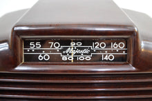 Load image into Gallery viewer, SOLD! - Nov. 1, 2019 - Golden Age 1946 Majestic Model 5A410 Bakelite AM Tube Radio Sweet and Nostalgic!