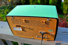 Load image into Gallery viewer, SOLD! - June 21, 2014 - CHARTREUSE GREEN Very Rare Vintage 1954 Philips P143-3 Tube AM Radio Works! - [product_type} - Philips - Retro Radio Farm