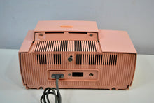 Load image into Gallery viewer, SOLD! - Dec 7, 2019 - Princess Pink 1957 General Electric Model 912D Tube AM Clock Radio Sounds and Looks Lovely!