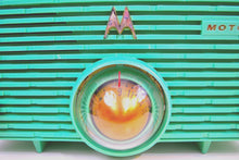 Load image into Gallery viewer, Sea Foam Green 1957 Motorola 56H Turbine Vintage Tube AM Radio Mint! - [product_type} - Motorola - Retro Radio Farm
