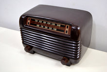 Load image into Gallery viewer, SOLD! - Nov 18, 2019 - Marble Swirly Brown Bakelite Vintage 1948 Philco Model 48-250 AM Radio Sounds Amazing! - [product_type} - Philco - Retro Radio Farm