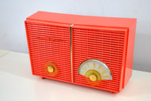 Load image into Gallery viewer, SOLD! - Apr 6, 2019 - Vintage 1958 Philco G826-124 AM Tube Radio in 'Flame' - [product_type} - Philco - Retro Radio Farm