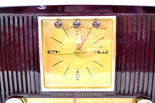 Load image into Gallery viewer, SOLD! - Dec. 3, 2018 - Amazon Echo Dot Ready Elegant 1955 General Electric Model 551 Vintage AM Clock Radio - [product_type} - General Electric - Retro Radio Farm