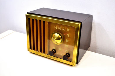 SOLD! - Dec 3, 2019 - St Regis Gold 1947 RCA Victor Model 75X11 Tube Radio Built Solid Sounds Sweet! - [product_type} - RCA Victor - Retro Radio Farm