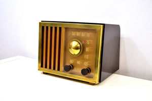 St Regis Gold 1947 RCA Victor Model 75X11 Tube Radio Built Solid Sounds Sweet!