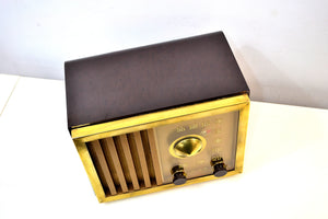 SOLD! - Dec 3, 2019 - St Regis Gold 1947 RCA Victor Model 75X11 Tube Radio Built Solid Sounds Sweet!