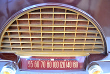 Load image into Gallery viewer, SOLD! - Nov 30, 2019 - Burgundy Brown Bakelite Vintage 1951 Philco Model 50-526 AM Radio Sounds Amazing Looks Grand! - [product_type} - Philco - Retro Radio Farm