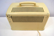 Load image into Gallery viewer, SOLD! - Dec. 13, 2019 - Ivory Cream Silvertone 1947 Model 6016 AM Tube Bakelite Radio Plays Like A Champ! - [product_type} - Silvertone - Retro Radio Farm