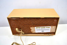 Load image into Gallery viewer, SOLD! - Jan 17, 2020 - Butterscotch Blonde Dual Speaker 1960 General Electric Model T-141A Tube Radio Don't Judge A Book By Its Cover!