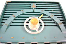 Load image into Gallery viewer, Neptune Green Mid Century 1955 Emerson Model 811B AM Vacuum Tube Radio Little Screamer! - [product_type} - Emerson - Retro Radio Farm